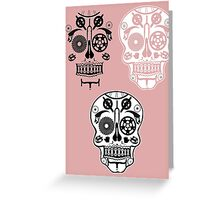 Skull shirt 1 Greeting Card