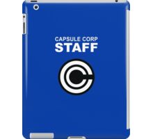 Capsule Corp Staff iPad Case/Skin
