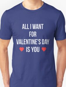 All I Want For Valentines Day is You T-Shirt