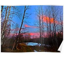 East Millinocket, Maine Woods Poster