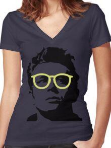 James Dean Women's Fitted V-Neck T-Shirt