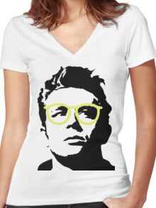 James Dean Women's Fitted V-Neck T-Shirt