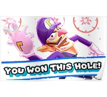 Ace in the Hole Waluigi Poster