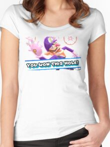 Ace in the Hole Waluigi Women's Fitted Scoop T-Shirt