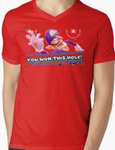 Ace in the Hole Waluigi Mens V-Neck T-Shirt