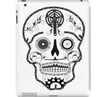 Cogs and Chains skull iPad Case/Skin