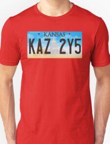 Supernatural Kansas Impala Plate T-Shirt