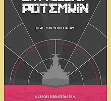 Battleship Potemkin Film Poster by tandrews27