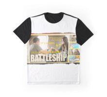 Vintage SHIELD Battleship- Skyeward Style Graphic T-Shirt