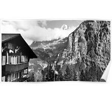 Bernese Alps Poster