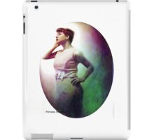 Staring into the Moon iPad Case/Skin