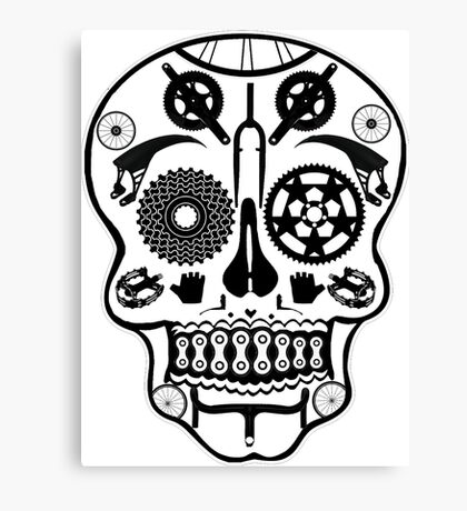 Symmetry skull Canvas Print