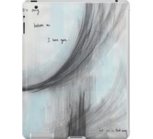 Not In That Way iPad Case/Skin