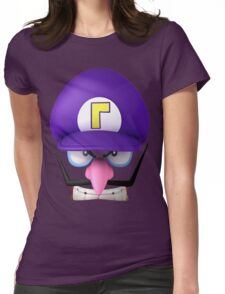 Determined Waluigi Womens Fitted T-Shirt