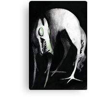 Hellhound ! Or just a tall dog monster friend Canvas Print