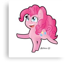 Smol Pinkie! Canvas Print