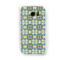 Ethnic Geometric Moroccan Watercolor Seamless Patern 3 Samsung Galaxy Case/Skin