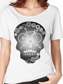 Grey Skull Women's Relaxed Fit T-Shirt