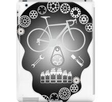Grey Skull iPad Case/Skin