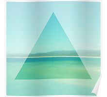 Ocean Triangle Poster