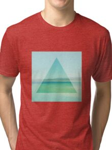 Ocean Triangle Tri-blend T-Shirt