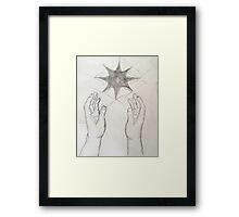 Heart in Hand Framed Print