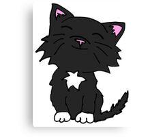 Mittens the Kitten Canvas Print
