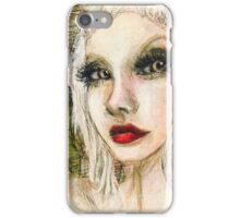 Parrot girl iPhone Case/Skin