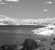 Lake Brockman - Near Infrared  Sticker