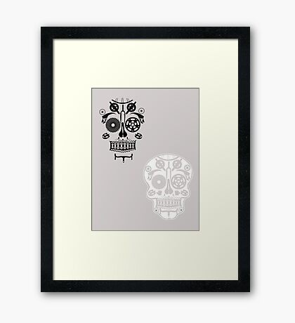 Skull shirt 2 Framed Print