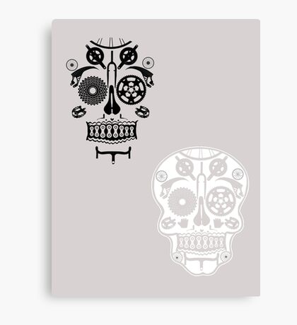 Skull shirt 2 Canvas Print