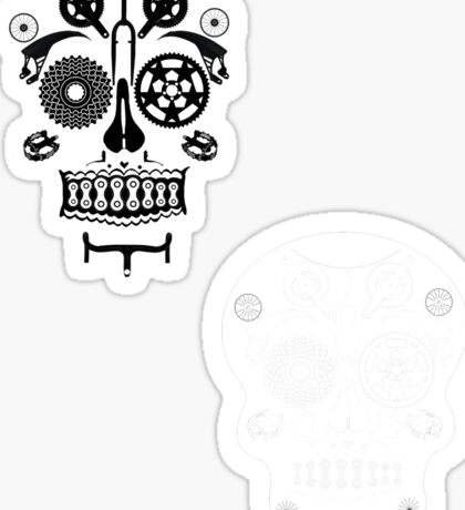 Skull shirt 2 Sticker