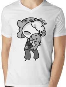 Teddy - Commission Mens V-Neck T-Shirt