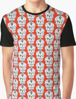 Cogs and chains skull 2 Graphic T-Shirt