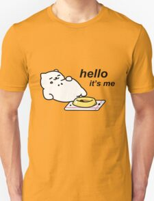 Neko Atsume - Tubbs (hello...it's me) Unisex T-Shirt