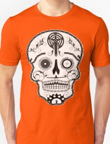 Cogs and Chains skull Unisex T-Shirt