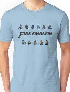 3DS LORDS   Fire Emblem Unisex T-Shirt