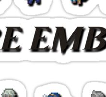 3DS LORDS   Fire Emblem Sticker