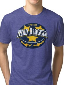 Nerd Blogger! Tri-blend T-Shirt