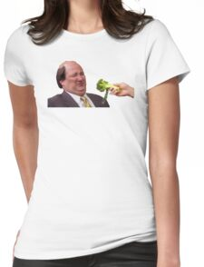 The Office Kevin Doesn't Like Broccoli Womens Fitted T-Shirt