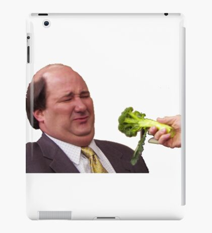 The Office Kevin Doesn't Like Broccoli iPad Case/Skin