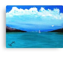 Goin Out Early...............S A I L I N' Canvas Print