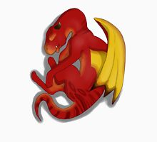 Sleeping Dragon (Red) Unisex T-Shirt