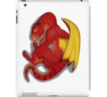 Sleeping Dragon (Red) iPad Case/Skin