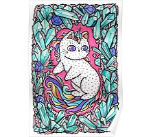 Unicorn  kitty Poster