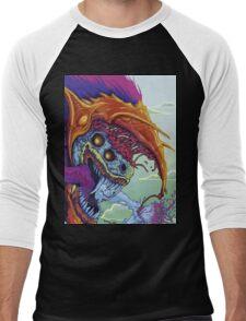 CS:GO | HYPERBEAST skin design | CS:GS Men's Baseball ¾ T-Shirt