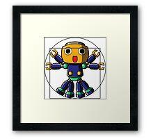 VitruvianServbot Framed Print