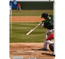Baseball Hit iPad Case/Skin