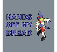 FALCO | Super Smash Taunts | Hands off my bread Photographic Print
