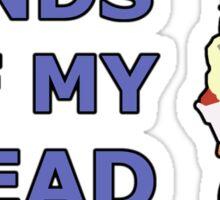 FALCO   Super Smash Taunts   Hands off my bread Sticker